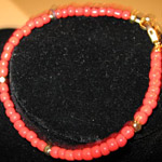 Red-Gold bracelet 7 3/4 in.